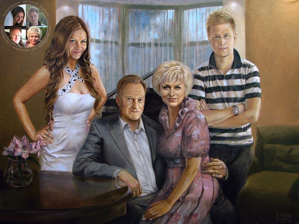 фото семейные портреты